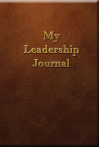 My Leadership Journal - Antony Bell